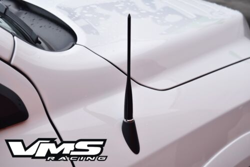 """VMS RACING BLACK 13/"""" LONG SPIKED ROD AM//FM RADIO ANTENNA FOR 07-16 TOYOTA TUNDRA"""