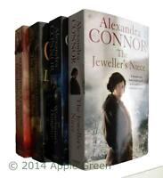 Alexandra Connor Books 4 Book Collection Set Women's Romance Saga Fiction New