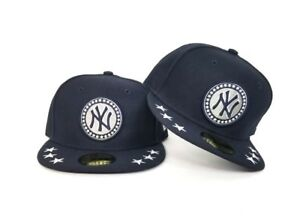 New Era Navy Blue New York Yankees All Star Game 59fifty Fitted Hat ... 208f36906e1