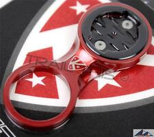 K-Edge Fixed Stem MTB Bike Mount fits Garmin Edge 200/500/510/800/810 - RED