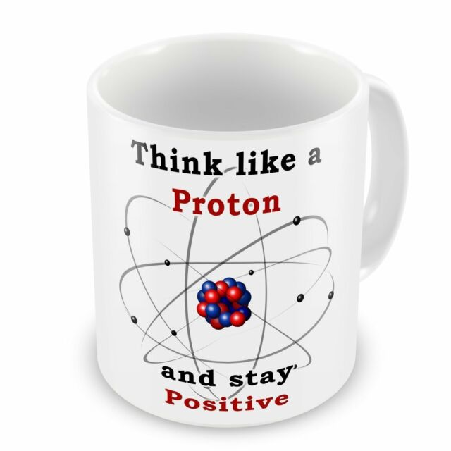 Think Like A Proton Glass Coaster