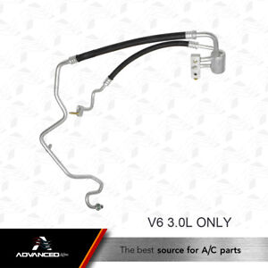 New A//C Suction /& Discharge Manifold Line Fits:2001 2002 Chevrolet Express V6