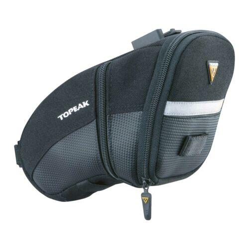 Topeak Aero Wedge Quick Clip Cycling Bike Cycle Saddle Bag Large