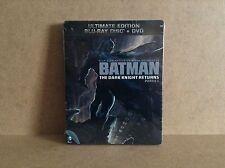 Batman: The Dark Knight Returns, Part 1 - Steelbook (Blu-ray/DVD) *BRAND NEW*