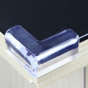 Details About Corner Protector Baby Child Care Safty Home Table Desk Edge  Transparent Cushion