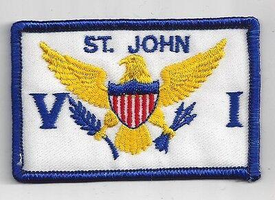 St John Virgin Islands Souvenir Caribbean Patch