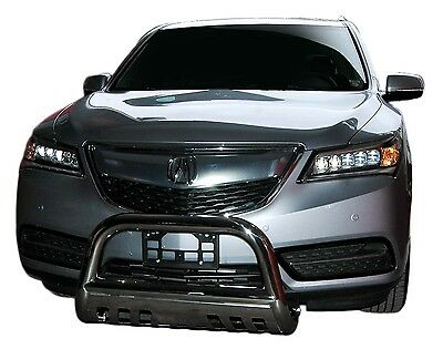 Wynntech Bull Bar with Skid Plate Front Bumper Guard for Acura MDX