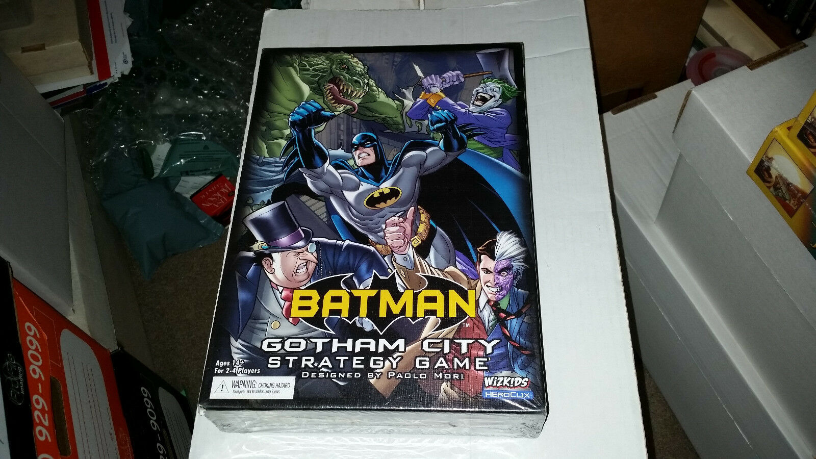 Heroclix dc - batman gotham city strategiespiel (neu)