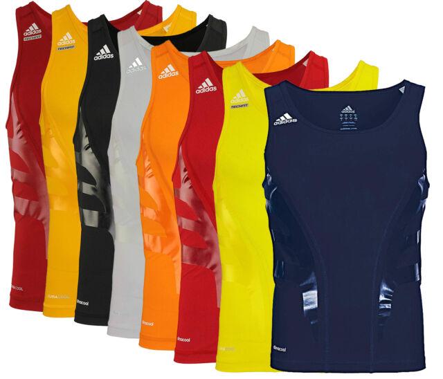 Adidas Men's Athletic Techfit Powerweb Compression Tank, Color Options