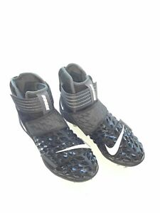 Nike-Force-Savage-Elite-high-top-mens-football-lineman-cleats-black-Sz-10-5
