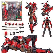 Yamaguchi Marvel Revoltech Kaiyodo Deadpool X-men Action Figure Toy Gift