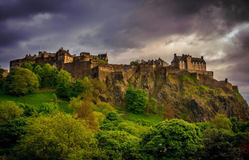 Edinburgh Castle Ballpoint Pen Scotland UK Scottish Travel Britain Gift #8906