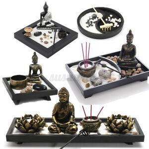 Zen-Garden-Sand-Tray-Kit-Bouddha-Meditation-Encens-Burner-Rake-Feng-Shui