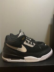 "Entender mal humedad paracaídas  Nike Air Jordan 3 Retro Tinker Hatfield ""Black Cement"" Men's Size 10 CK4348  007 193149869550 | eBay"