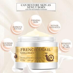 Snail-Face-Cream-Hyaluronic-Acid-Anti-aging-Moisturizer-Collagen-Essece-25g-NKS
