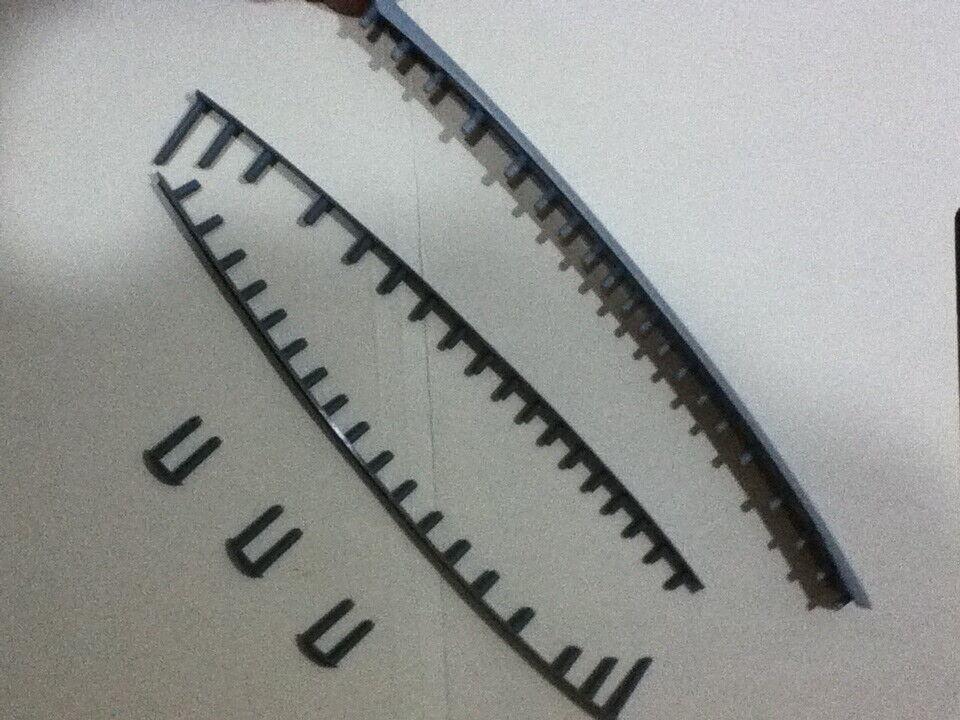 YONEX RQ-220 TENNIS REPLACEMENT PARTS PLASTIC BUMPER HEAD GUARD & GROMMETS KIT
