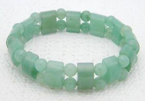 VTG-Green-Jade-Jadeite-Stretch-Bracelet-28-grams