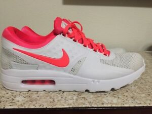 Details about Mens Nike Air Max Zero ID White infrared 853860 902 Size 11.5