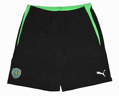 Cosciente Sporting Club De Portugal Lisbona Maglia Pantaloni Pantaloncini Short Puma S-