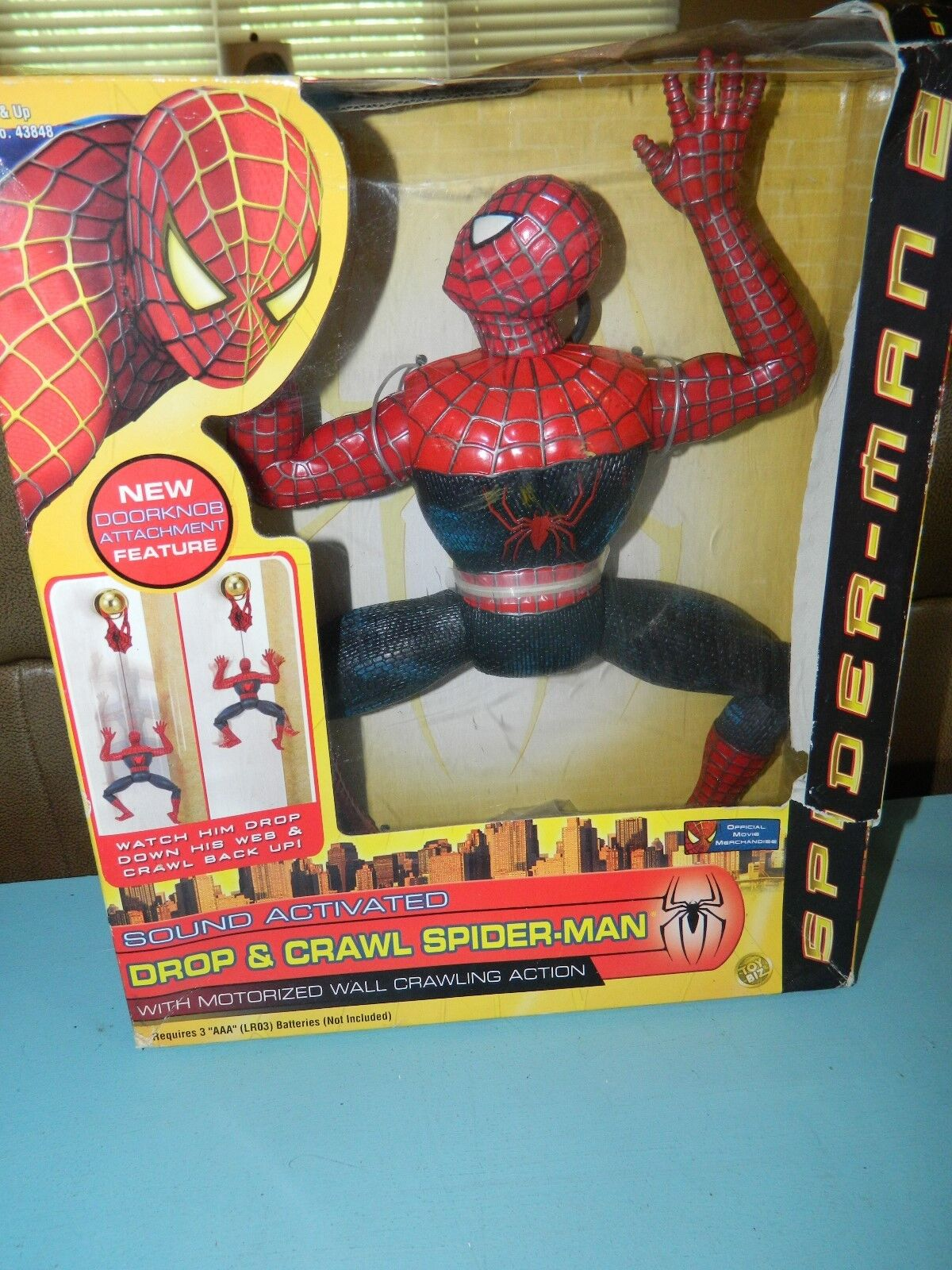 Marvel Spider-Man 2004 Drop & Crawl Spider-Man