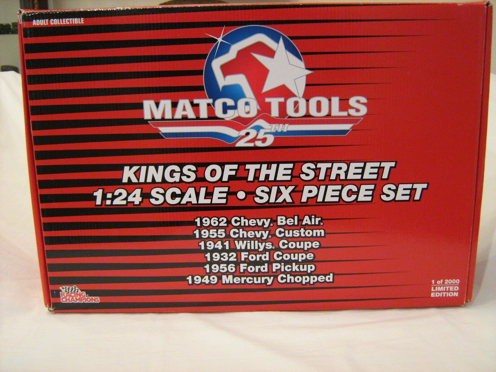 Matco Tools 1 24 Kings of the Street 6 car set LE of 2000