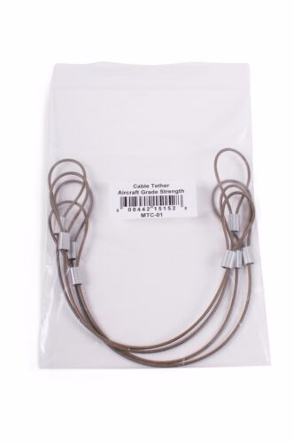 Adjustable Pre-Assembled CableTethers.com Universal Cable Tether 4 Pack