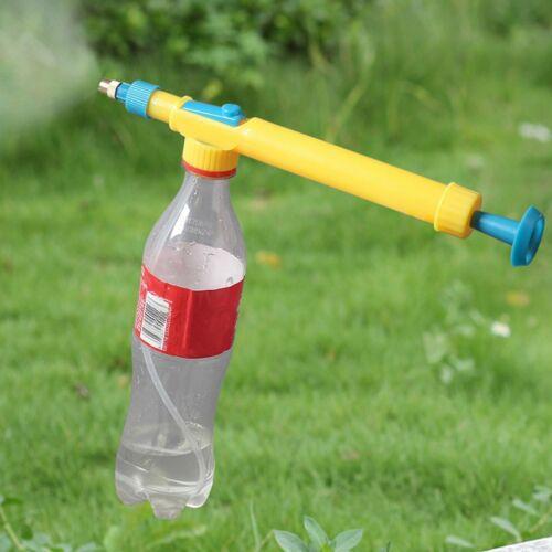 Coke bottle spray gun sprayer manual reciprocating air nozzle iron gardening+/%