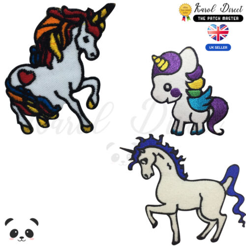 Unicorn Disney Embroidered Iron On //Sew On Patch Badge For Clothes etc