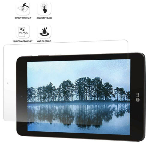 For LG G Pad F2 8.0 Scratch-Resistant Tempered Glass Screen Protector Clear