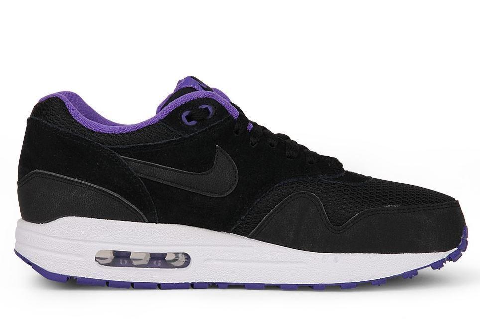 Nike Air Max 1 Essential Gr 36 black black-hyper grape-white 599820 006