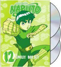 Naruto Uncut - Box Set Vol. 12 (DVD, 2009, 3-Disc Set, Uncut)
