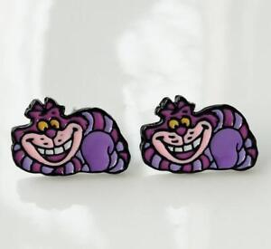 gift-Alice-in-Wonderland-Cheshire-Cat-earring-ear-stud-earrings-studs-anime