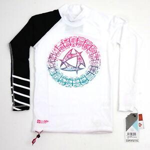 MYSTIC Maori Rash Shirt Weiß Gr.XS-S Neu+ OVP Damen Langarm