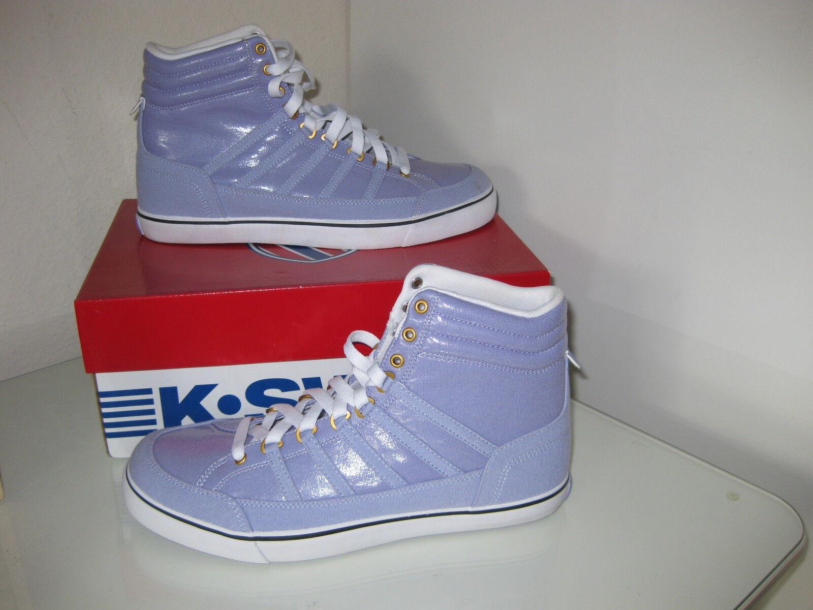 K-Swiss Damen Chucks Schuhe Sneakers Gr.40 Turnschuhe Chucks Damen Canvas 92436504 NEU 346854