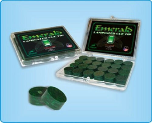 Tiger Emerald Tips Cue Components Making Repair Supplies 12 tips w//FREE SHIP
