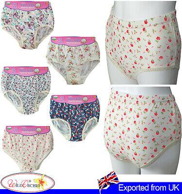 Ex Chain Store Women 5 Pack Thong Underwear Brief Knicker Ladies Underpants Pant