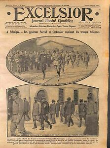 General-Maurice-Sarrail-Emilien-Cordonnier-amp-Carlo-Petitti-di-Roreto-WWI-1916