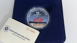 2020 M'sia Asia-Pacific Economic Cooperation Coloured Silver Proof Coin ( 0909 )