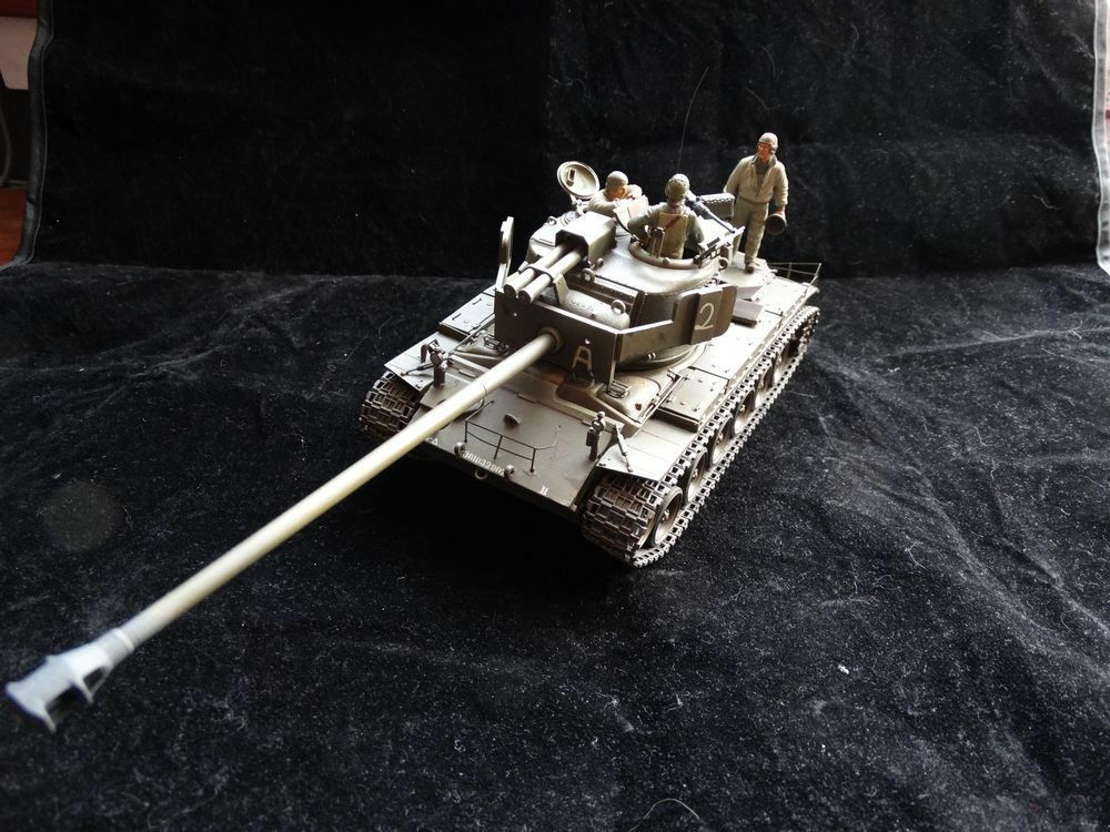 Built & Painted 1/35 - T26E4 Super Pershing