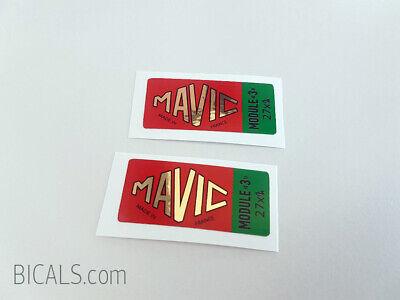 MAVIC MODULE E 27 1 1//4 decal sticker for rims free shipping silk screen