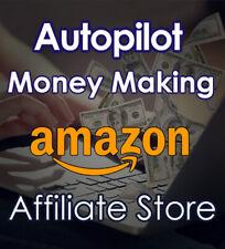 Autopilot Money Making Amazon Affiliate Website Dropshipping Store 2 In 1