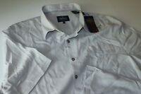Nat Nast Camp Shirt Moon Beam Grey Silk Blend F6so1j Xx-large Xxl