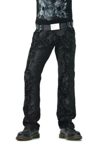 Men's Vintage Pants, Trousers, Jeans, Overalls    SHRINE TAPESTRY ROCKER VAMPIRE DRACULA GOTHIC GOTH STEAMPUNK PIRAT PANTS JEANS $99.99 AT vintagedancer.com