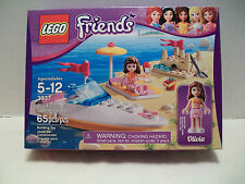 Lego #3937 Friends Olivia's Speedboat Rare and Hard To Find NIB 2012!
