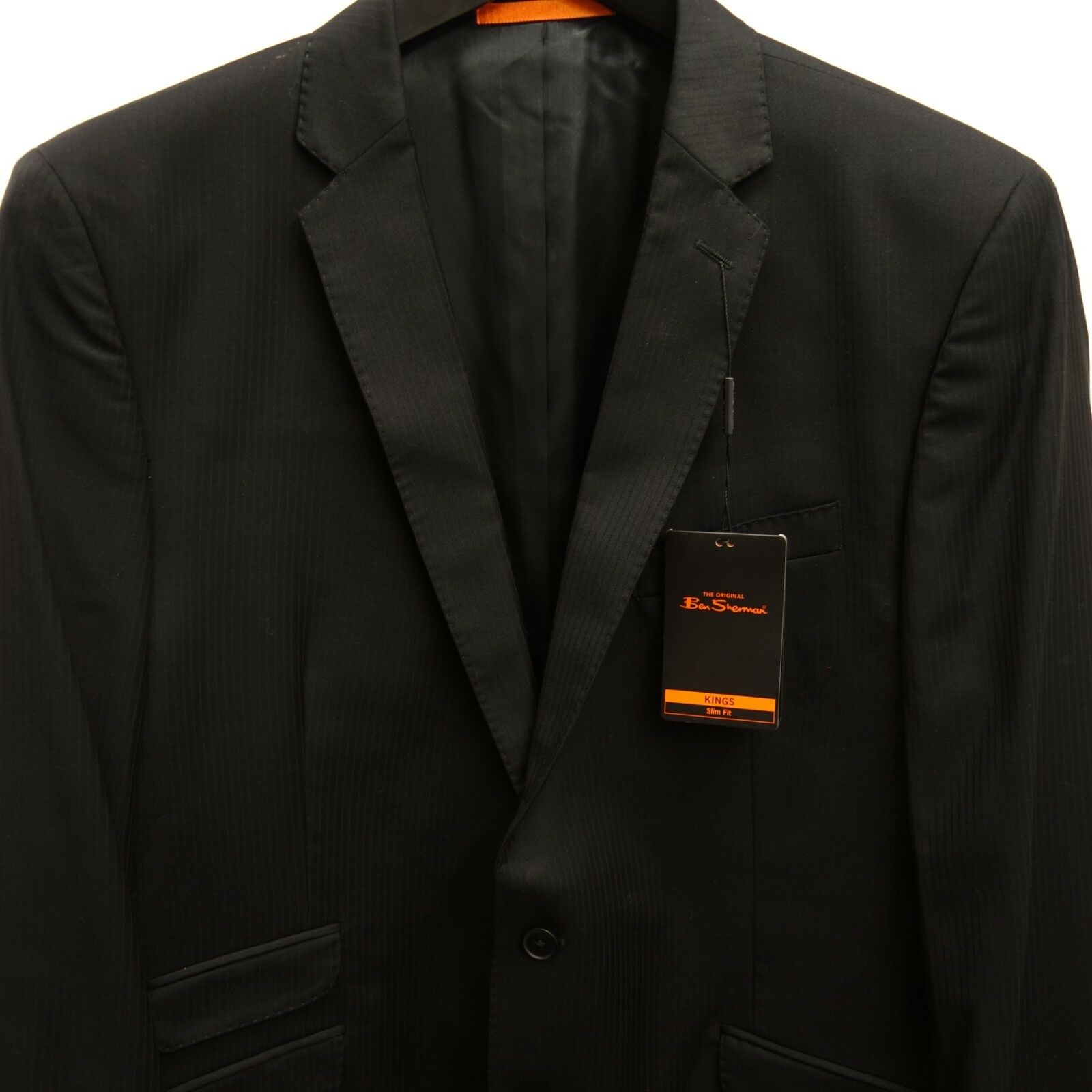 Neu Ben Sherman Herren Zwei Knopf Kings Enge Passform Schwarzer Blazer Größe 44     | Deutschland Shops  | Reparieren  | Ideales Geschenk für alle Gelegenheiten