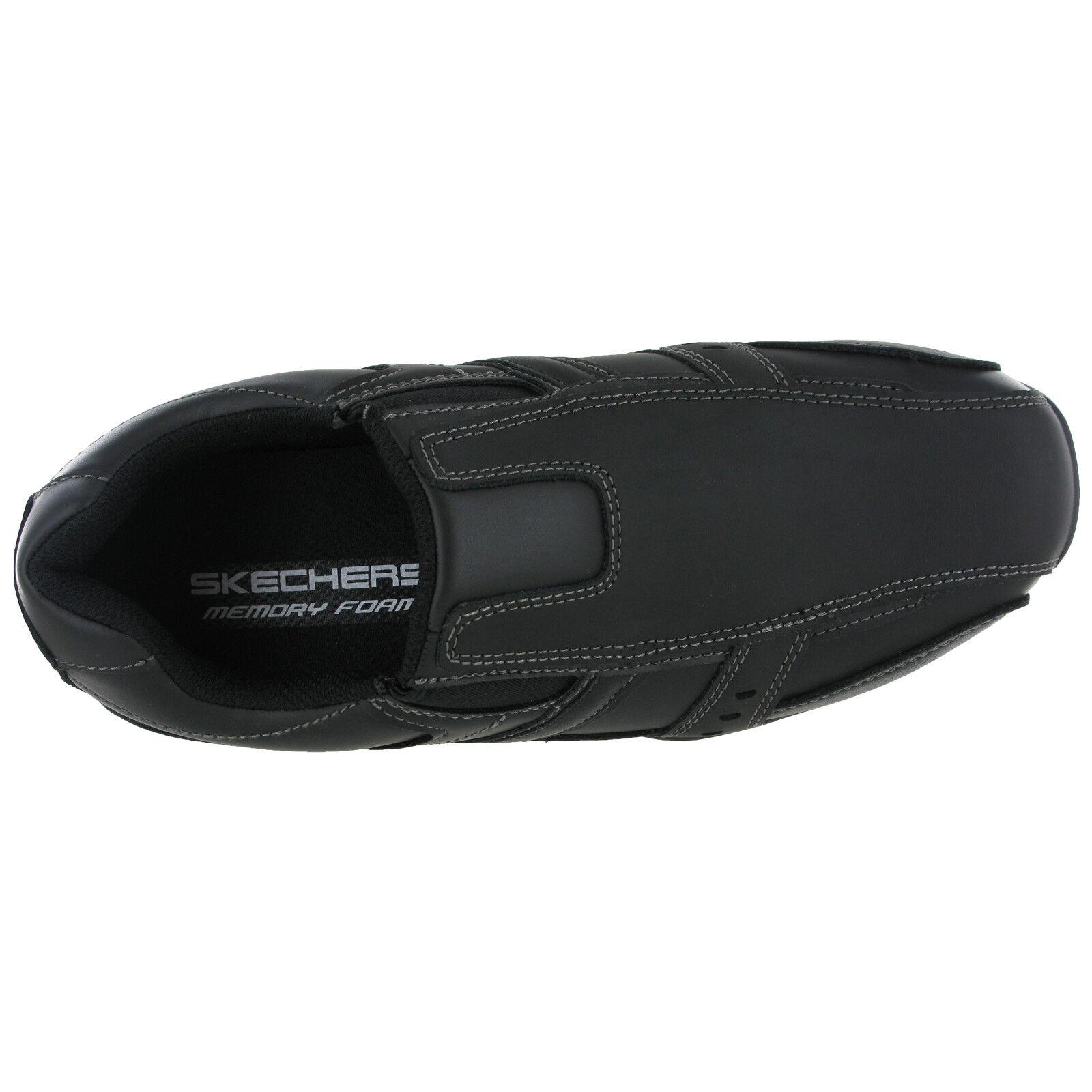 Skechers Marter-Kool digz Baskets à en Cuir Mousse à Baskets Mémoire de Chaussures Homme 999747 82199d