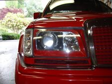 Mercedes W124 E 93-95 Replacement Clear Polycarbonate Glass Headlight Lens Pair