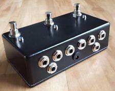 Triple Guitar Loop Pedal - True Bypass - Pedal Board Looper - 3 Channel Switcher