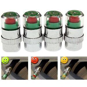 lot de 4 bouchons valve pression pneu s curit auto voiture roue air alert neuf ebay. Black Bedroom Furniture Sets. Home Design Ideas