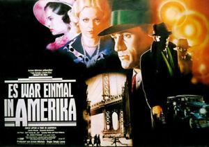ES WAR EINMAL IN AMERIKA  - Orig.Groß-Kino-Plakat A0 - Robert DeNiro - Gerollt